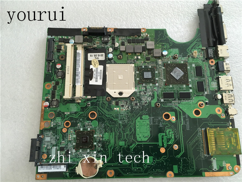 Yourui  For HP Pavilion DV6-2000 Laptop Motherboard 571187-001 571187-501 DAUT1AMB6E0  Fully Tested