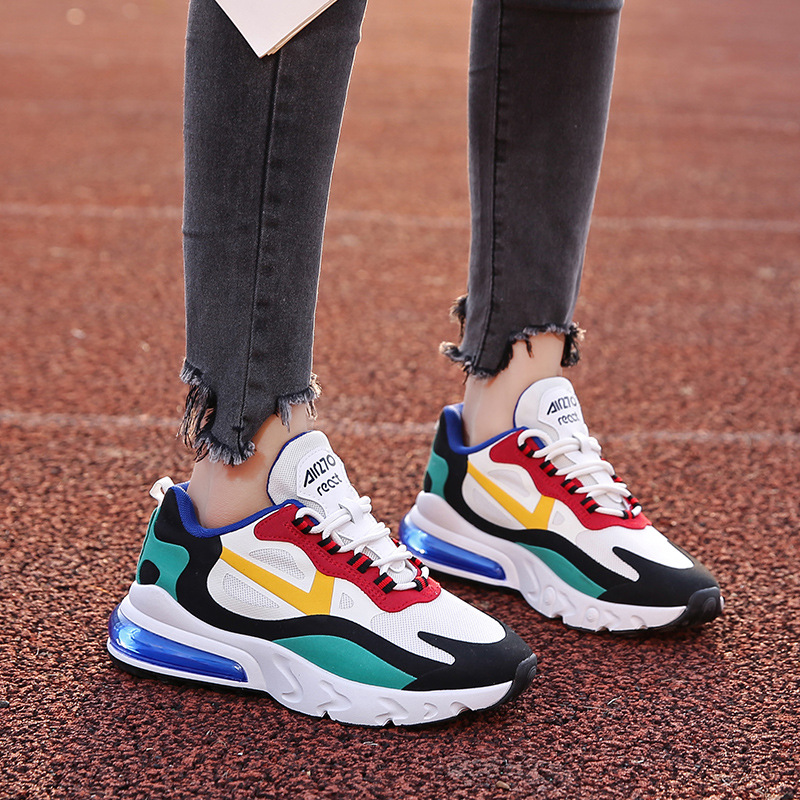 HKXN 2020 Spring New Style Women Shoes Students Daddy Shoes Sports Shoes Breathable Color Matching Women' Sneakers Y2|Women's Vulcanize Shoes| - AliExpress