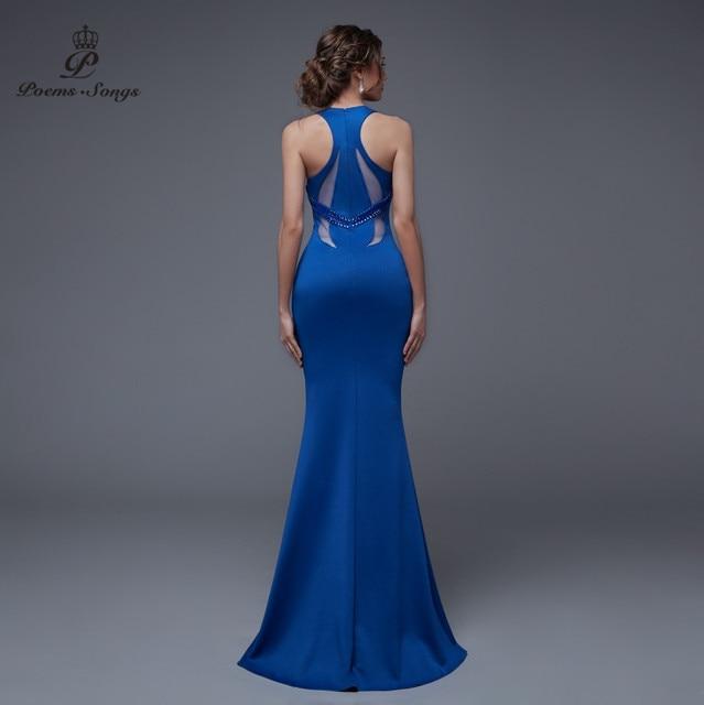 Poems songs 2019 V-neck sexy long dress vestidos de verano summer dress women ropa mujer mermaid elegant robe femme vestidos 5