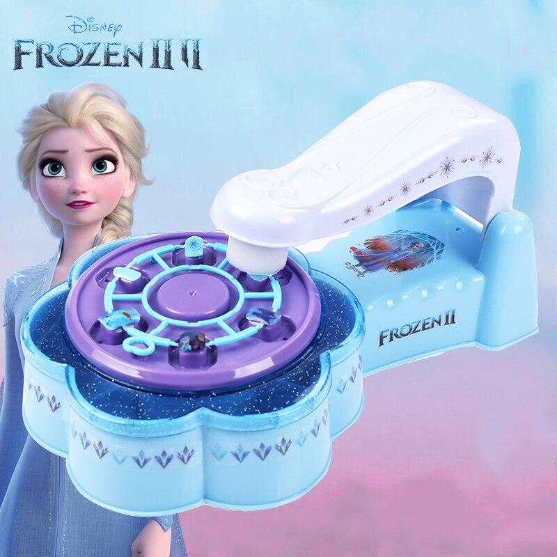 Disney New Princess Frozen 2 Girls Nail Sticker Set  Cartoon Pattern Nail Suit Girl Play House Beauty  Fashion Toys