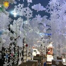 Flocons De neige De noël, décoration De fête d'hiver