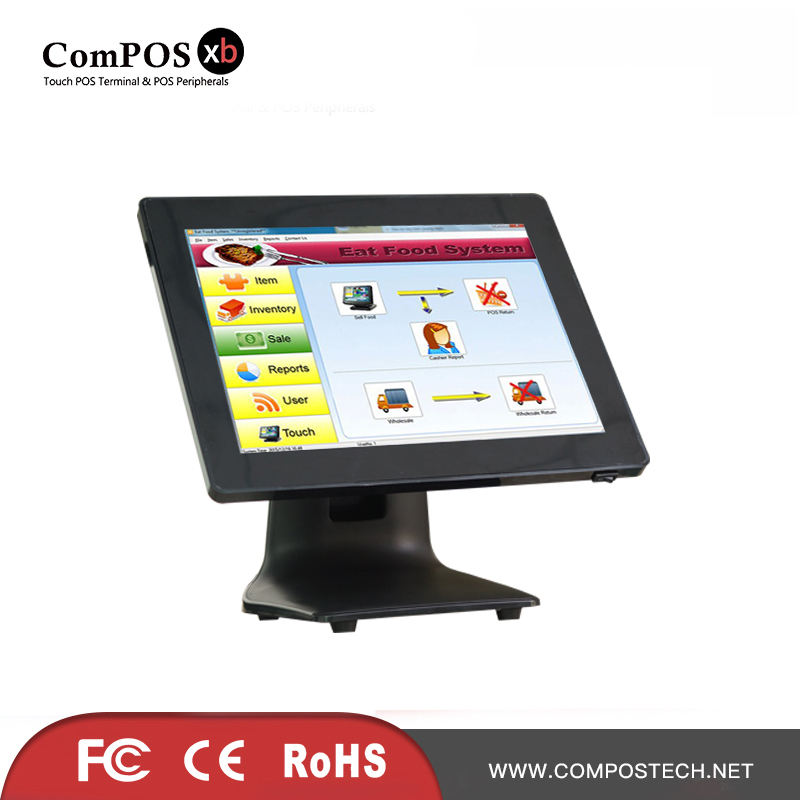 POS System 15 inch Touch Screen Cash Register Tablet PC Cash Register Machines
