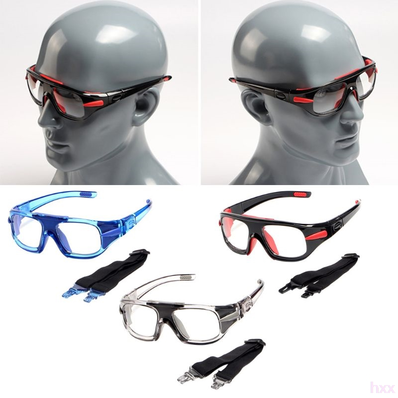 New Sports Glasses Basketball Football Protective Eye Safety Goggles Optical Frame Removable Mirror Legs Myopia