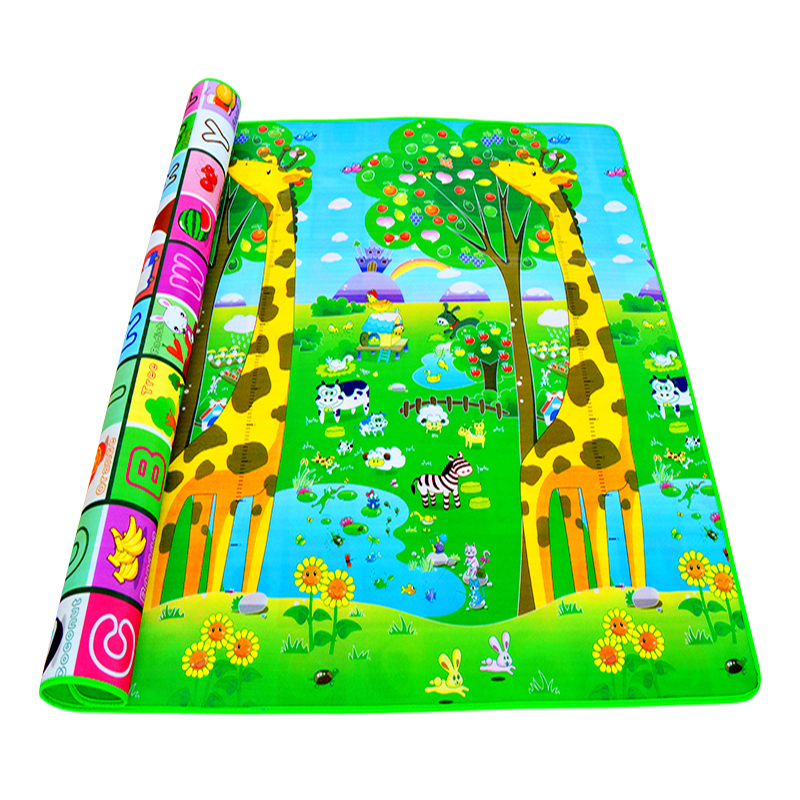 H2dfcc22d812640caa3d443ce343e7cbbe 0.5cm Thickness Children's Rug Baby Playing Mats Soft EVA Foam Double Side Patterns Child Carpets For Kids Crawling Gym Mats