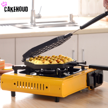 CAKEHOUD Household Double-sided Non-stick QQ Egg Bubble Cake Baking Pan Mold Kitchen Waffle Machine Mold DIY Bread Muffin Plate