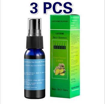 3 sztuk Minoxidil szybkie odrastanie włosów Serum Spray do włosów Essence Anti Hair spadek leczenie pielęgnacja brody Yuda Pilatory kobiety i mężczyźni tanie i dobre opinie YIGANERJING Jedna jednostka 20170608 CN (pochodzenie) Produkt do wypadania włosów herbs(traditional Chinese medicine 1500