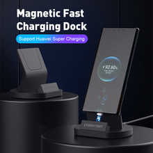 SIKAI 11th Gen 5A Super Fast Charging Magnetic Charge Dock Stand USB Cable For Huawei Mate 40 Pro Magnet Quick Charger