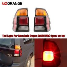 Tail Light For Mitsubishi Pajero MONTERO Sport 1999 2008 Rear tail Light Rear Fog Lamp Tail Light Assembly Car Styling