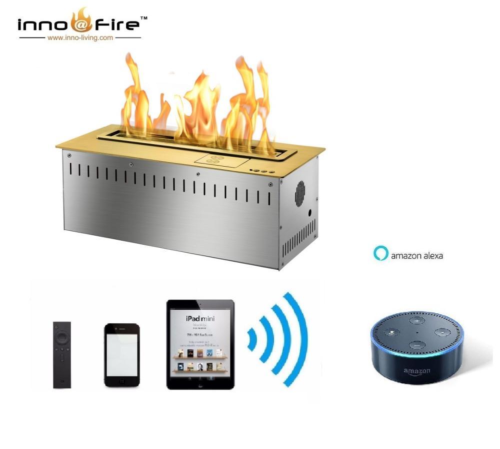 On Sale  18 Inch Automatic Bio Ethanol Fireplace Wifi Control
