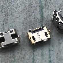 100 pçs/lote Mini Micro USB de Carregamento Porta Carregador Conector para Huawei Y5 II CUN-L01