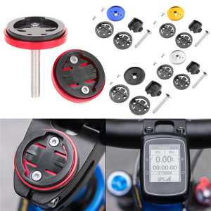 Bike Computer Holder Code Table Base Set MTB Road Bike Stem Top Cap bisiklet Speedometer for Garmin Bryton Cateye(China)