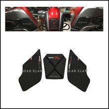 ZF500GYため500X 400X高品質オートバイタンクトラクションサイドガス燃料膝グリップデカール