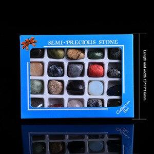 20 в 1 Набор, натуральный рок-кристалл, минерал, ювелирные изделия, домашняя мебель для украшения коллекции, сделай сам, подарочное украшение, ...