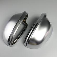 BODENLA матовая хромированная крышка зеркала заднего вида, боковая крышка зеркала S Line для Audi A4 B8 A6 C6 A5 8T Q3 A3 8P