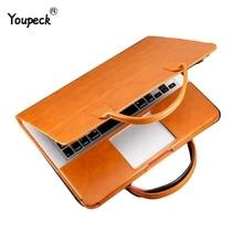 Multi Gebruik 13 Inch Laptop Tas Voor Macbook Air 13 Pu Lederen 12, 13.3, 15.4 Inch Laptop Case Voor Macbook Pro 13 Pu Notebook Tas