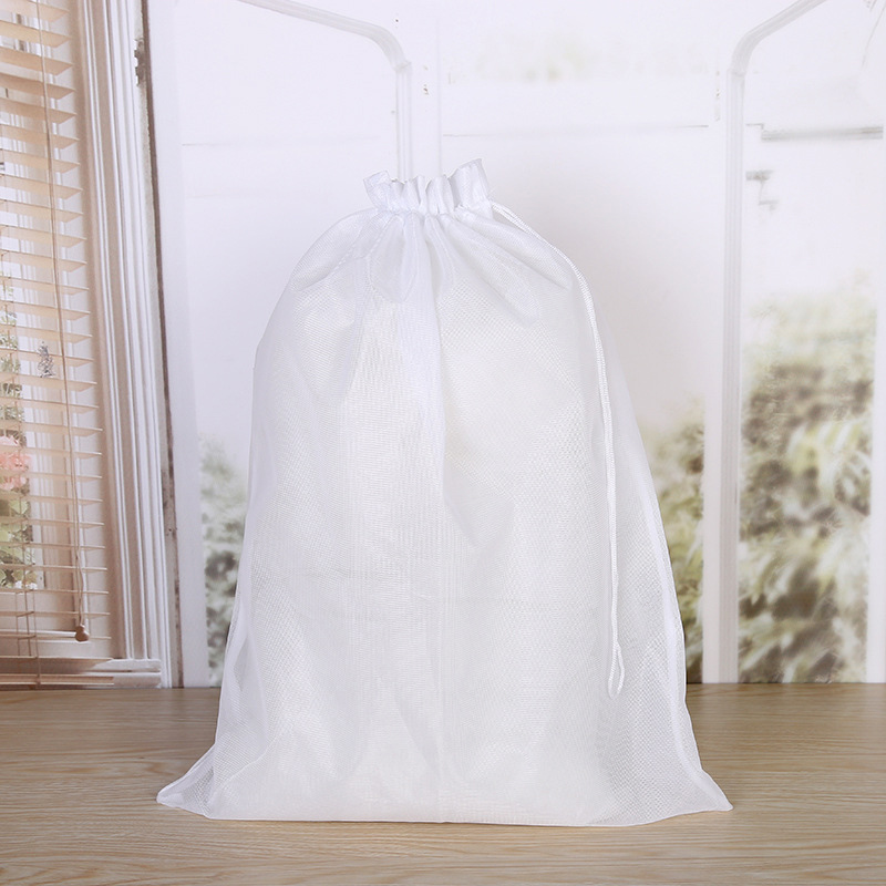 Large Laundry Bag Polyester Mesh Underwear Bra Wash Drawstring Bags Washing Underwear Clothes Saver Protecting