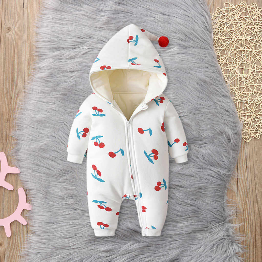 תינוקת בגדי תינוק romper תינוקת romper חורף pudcoco ליל כל הקדושים תלבושות סרבל סרבל תינוקות kombinezon dziecko 2019 0-24m Z4