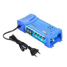 Sdr MMS80 Thuis Modulator Aluminium Legering Meerdere Modulatie Systeem Uhf Eu Plug 100 ~ 240V Video Zender Modulator