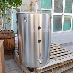 250L 304 Stainless Steel Wine Fermentation Barrel Fermenter Brewery One-way Exhaust Valve Good Sealing Fruit Wine Barrel