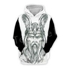 Tessffel Unisex Viking Tattoo Warriors Tracksuit Newfashion casual MenWomen 3DPrint Sweatshirts/Hoodie/shirts/Jacket s-22