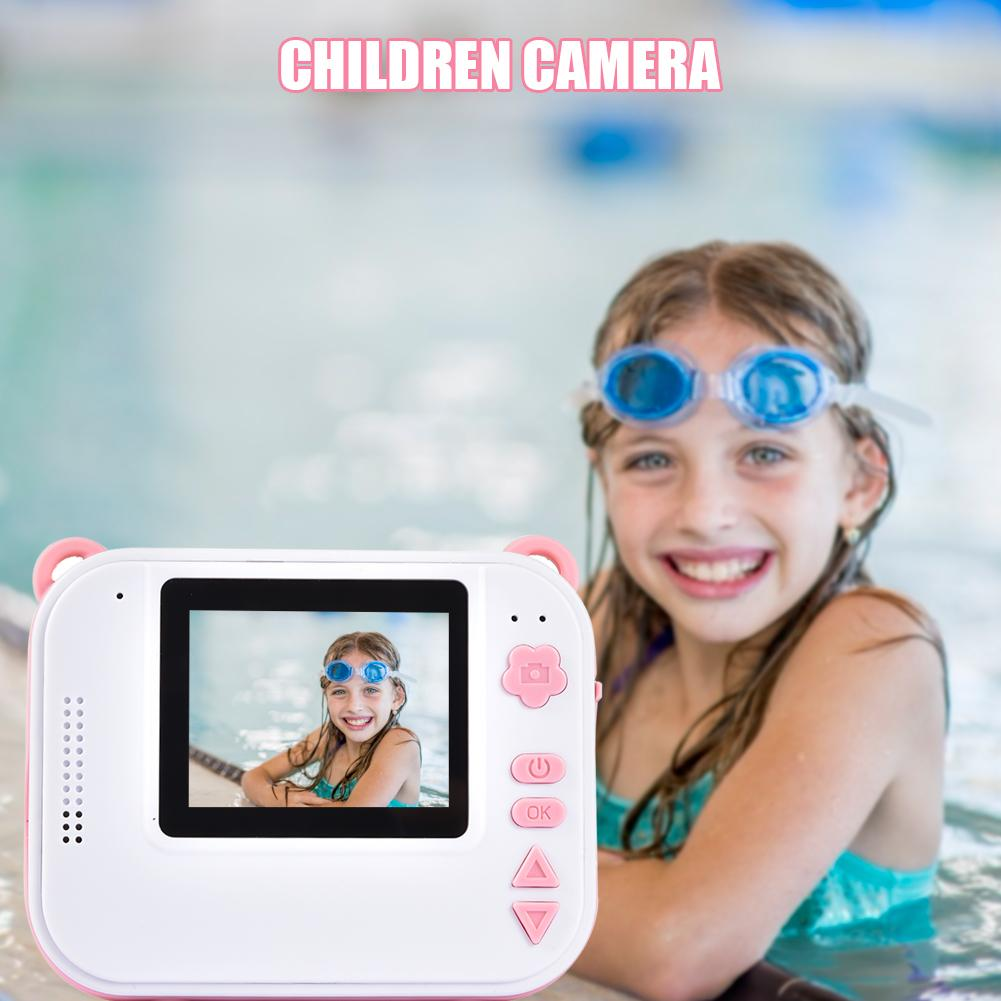 DIY Digital Instant Print Camera Full Color Prints Child Camera Printing Video Recorder Camcorder Kids For Children Baby Gifts