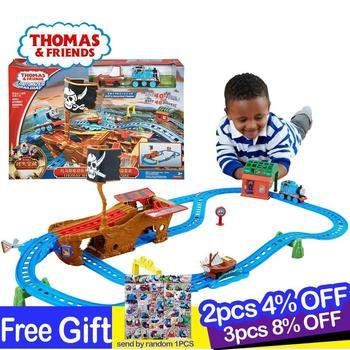 Thomas and Friends Motorized Thomas Shipwreck Adventure from Sodor Rail Of Children's Toys Baby Toys Educational Toys cdv11 эксклюзиные паровозики в асст thomas and friends
