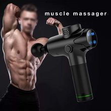 New power Muscle Massage Gun Deep Tissue Massager Therapy Gun Exercising Muscle Pain Relief Body Shaping muttus muscle massage gun deep tissue massager therapy gun exercising muscle pain relief body shaping