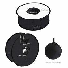 Портативная камера круглый софтбокс Отражатель складной для портретной фотографии продукт костюм для большинства камер s JR предложения