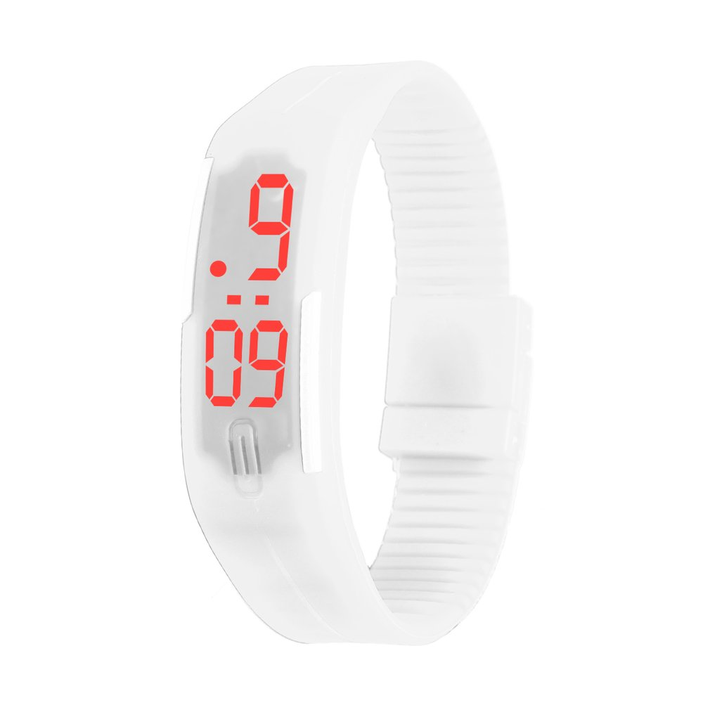 Kids LED Date Children Digital Outdoor Sports Clock Digital Display Watch Silicone Wristwatch Birthday Gift For Boys And Girls