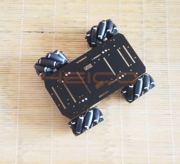 chassi de roda mecanum dc motor chassi 02