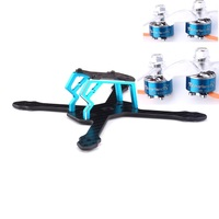 FPV Racing 1408 Brushless Motor 3600KV And Space Gear GT145mm Frame Kit brushless Frame RC Toys For RC Drone Parts