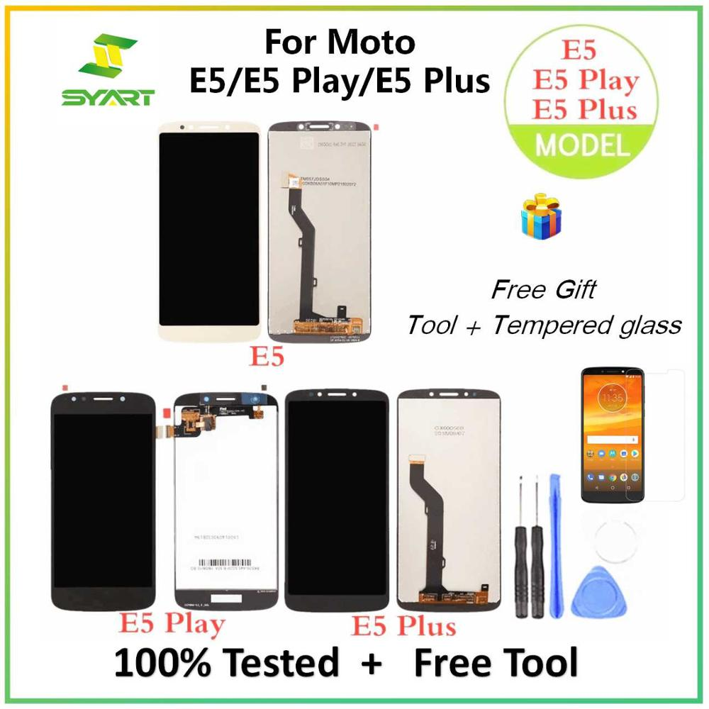 For Motorola E5 Plus XT1924 LCD Display Touch Screen Digitizer Assembly Replacement Parts For Moto E5 XT1944 E5 Play XT1921 LCDs