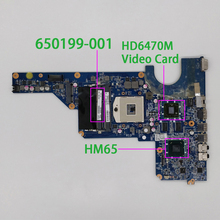 650199-001 REV REV:E w 216-0809024 GPU per HP Pavilion G4 G6 serie G7 NoteBook PC Laptop scheda madre Mainboard