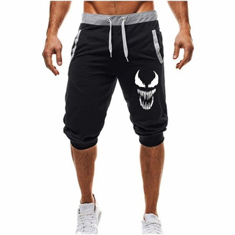 Casual Shorts Men Brand New Venom Board Shorts 2020 Mens Summer Shrots WaterProof Solid Elastic Waist Fashion Short Homme