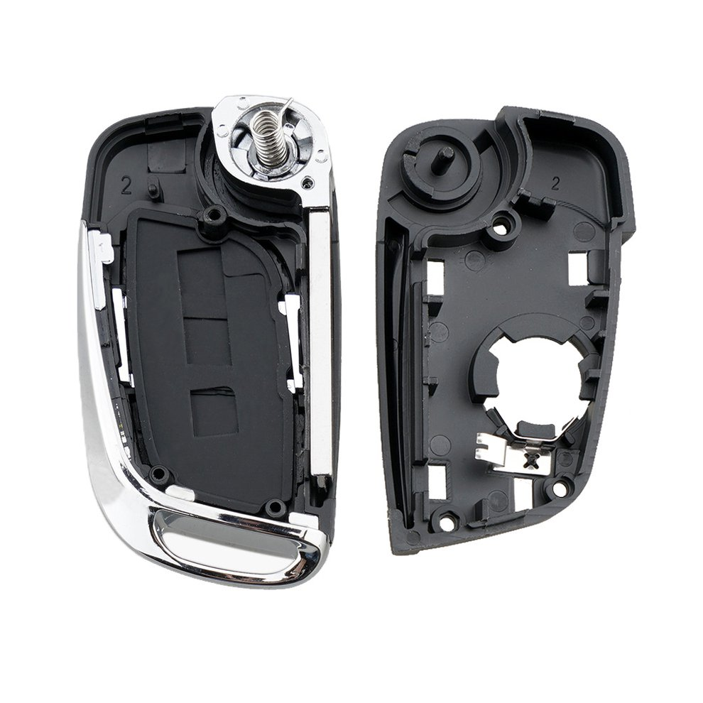 Jingyuqin Va2 hoja para Peugeot Partner 306 de 407 modificado socio 3 botón llave de Control remoto Fob de la cubierta de la Caja