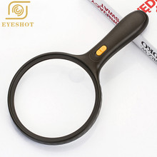 2016 Good Quality 35X50mm Jewelry Magnifying Optics Glass Handle Loup Magnifier Watch Repair Tool Reading