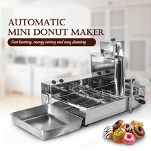 ITOP 2000W Doughnut Makers, Commercial Automatic 6L Stainless Steel Donut Maker,Electric Frying Mini Donut Making Machine