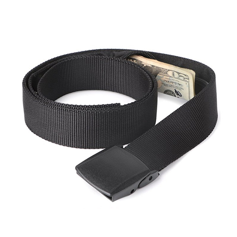 Travel Security Belt Cash Money Strap Anti Theft Waist Packs Nylon For Women Men New