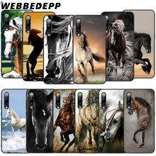 WEBBEDEPP Running Horses Art Soft TPU Case for Xiaomi Mi 6 8 A2 Lite 6 9 A1 Mix 2s Max 3 F1 9T A3 Pro CC9E Cover webbedepp yin yang koi fish soft tpu case for xiaomi mi 6 8 a2 lite 6 9 a1 mix 2s max 3 f1 9t a3 pro cc9e cover