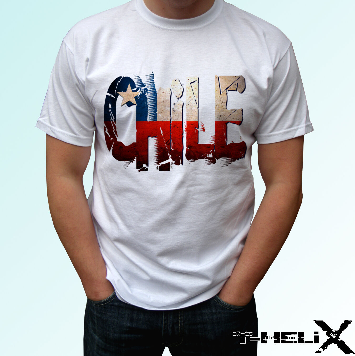 Chile flag mens womens kids /& baby sizes white t shirt top country design