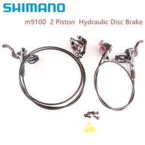 Image 1 - SHIMANO XTR M9100 2 Piston M9120 Brake 4 Piston Mountain Bike XTR Hydraulic Disc Brake MTB ICE TECH Better M9000
