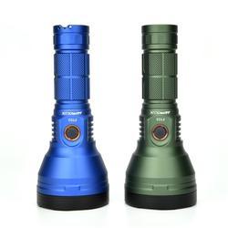 Astrolux FT03 XHP50.2 4300lm 735m type-C перезаряжаемый светодиодный фонарь черное тактическое кольцо 18650 фонарь прожектор