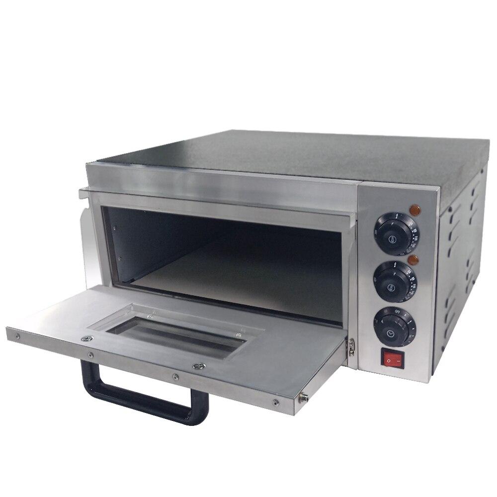 Four à pizza Commercial avec machine de cuisson électrique de four à pain de contrôle de température pour la restauration de café