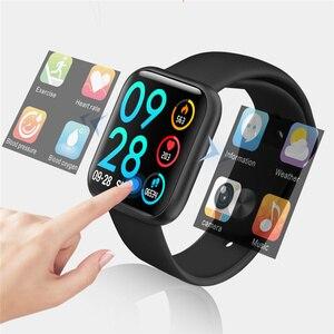 P80 Smartwatch w pełni dotykowy pulsometr pomiar ciśnienia krwi Vs B57 P68 zespół damski Ip68 Dip68 wodoodporny