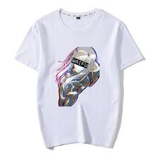 Mans Darling In The Franxx T Shirts Zero Two Waifu Funny Short Sleeves Anime Manga Tees clothing Pure Cotton Normal T-Shirts