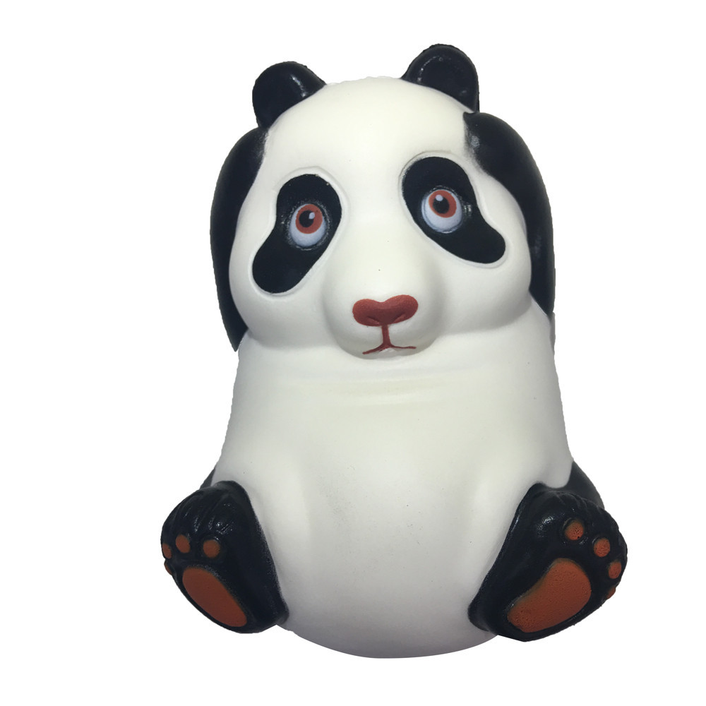 Stress Relief Toy Adorable Panda Slow Rising Collection Squeeze Antistress Toys Exquisite Fun Cartoon Animal Doll #B