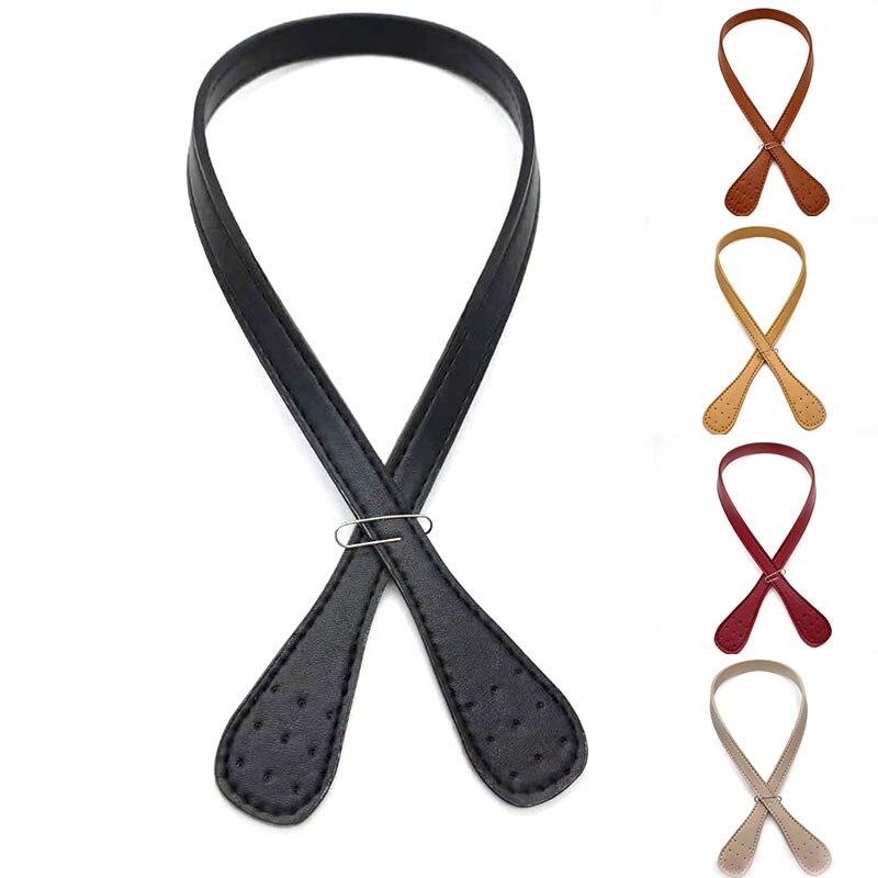 Hot Women Shoulder Bags Handle Detachable PU Leather Bag Belt DIY Replacement Handbag Strap Band Bag Accessories 2Pcs  Lady