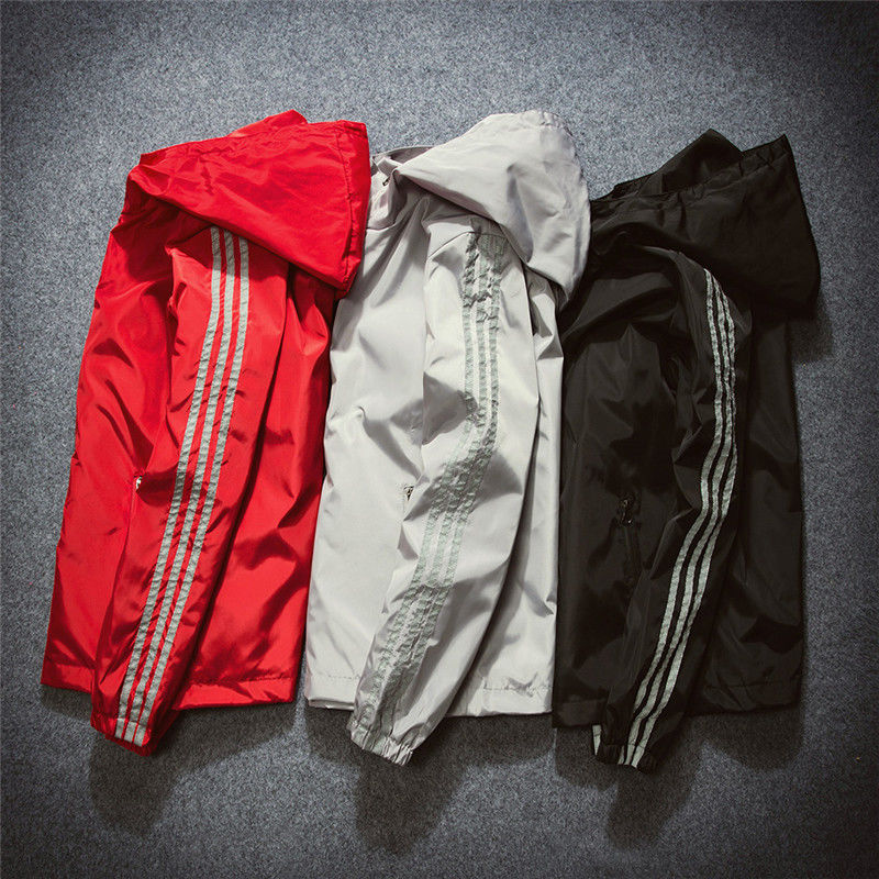 Spring And Autumn Recreational Cap Jacket Fashion Sunscreen Sports Windswear Men's Jacket