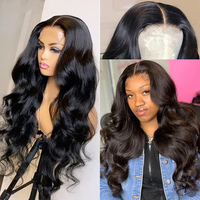 Body Wave Lace Front Wig Human Hair Lace Frontal Wigs For Black Women Brazilian Hair Pre Plucked 28 30 Inch Loose Deep Wave Wig 2