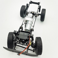 Development Metal Buggy Gift Vehicle Models Gearbox Set Intellectual Outdoor Toys DIY RC Car Parts Children For WPL C14 C24 C34